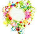 Floral background, , eps10 Royalty Free Stock Photo
