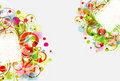 Floral background, , eps10 Royalty Free Stock Photos