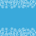 Floral background illustration drawing of Royalty Free Stock Photo