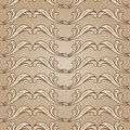 Floral background with pattern in light and dark brown colors Royalty Free Stock Images