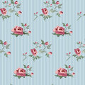 Floral background seamless with retro roses Stock Image