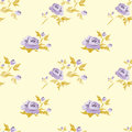 Floral background seamless with roses in shabby chis style Royalty Free Stock Image