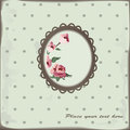 Floral background vintage with roses Royalty Free Stock Photography