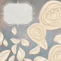 Floral backgrounds with vintage roses. EPS 8 Royalty Free Stock Photos