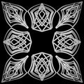Abstract gothic symbol in celtic style Royalty Free Stock Photo