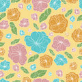 Floral botany pattern Stock Photos