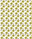 Floral Brown Biscuit Seamless Pattern For Fabrics