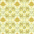 Floral and Butterfly Pattern Royalty Free Stock Photo
