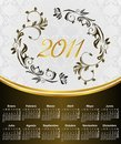 Floral Calendar For Year 2011,...