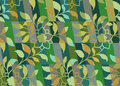 Floral camouflage pattern seamless Stock Image