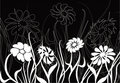 Floral chaos, vector Stock Photography