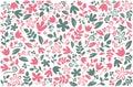 Floral Colorful Background Des...