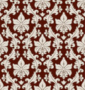Floral damask pattern Royalty Free Stock Photo