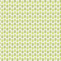 Floral decorative texture green pattern with decorative leafs abstract decorative background seamless Royalty Free Stock Image