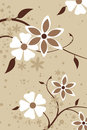 A floral Design Background Royalty Free Stock Images