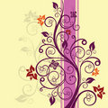 Floral design vector illustration Royalty Free Stock Images