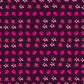 Floral Ditsy-Flowers in Bloom,Seamless Repeat Pattern