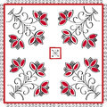 Floral ethnic ornament