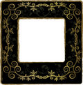 Floral  frame elements Royalty Free Stock Images