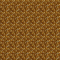Floral gold seamless background. Stock Photo