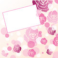 Floral Greeting Card Royalty Free Stock Image