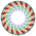 Floral Mandala Stock Image