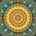 Floral Mandala Royalty Free Stock Photos