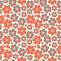 Floral ornamental seamless pattern decorative nice flowers background endless ornate texture for prints crafts textile Royalty Free Stock Photography