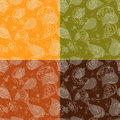 Floral paisley vector colorful ornate seamless pattern. Vector