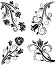 Floral pattern. Stock Photos