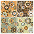 Floral Pattern_Autumn Stock Images