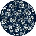 Floral pattern circle Royalty Free Stock Photo