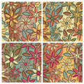 Floral Pattern_Earthy Stock Image
