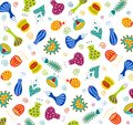 Floral pattern fabric design Royalty Free Stock Photography