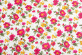 Floral pattern on seamless cloth. Flower bouquet. Stock Photo