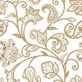 Floral Pattern. Seamless Orien...