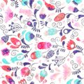 Floral Pattern Silis, Pattern, Direction Arrows, Illust