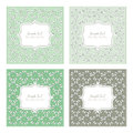 Floral pattern square backgrounds Royalty Free Stock Photo
