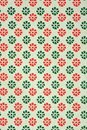 Floral patterned old paper sheet Royalty Free Stock Image