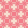 Floral pink seamless pattern. Background with fower elements for wallpapers.