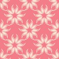 Floral pink seamless pattern. Background with fower elements for wallpapers