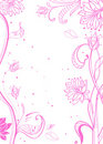 Floral pink tender background Royalty Free Stock Photos