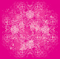 Floral pink and white design Stock Photography