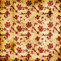 Floral Print Background Royalty Free Stock Photo