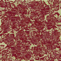 Floral red print background Royalty Free Stock Photo