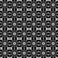 Floral repeat seamless pattern Stock Image