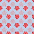 Floral repeat seamless pattern print background design