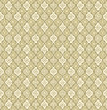 Floral seamless background abstract beige and green floral geometric seamless texture vector textile tile pattern on light Royalty Free Stock Image