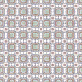 Floral seamless background abstract beige and grey floral geometric seamless texture vector textile tile pattern on light ornament Stock Images