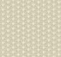 Floral seamless background abstract beige and white floral geometric seamless texture vector textile tile pattern on light Royalty Free Stock Photos